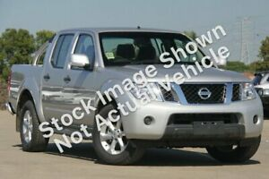 2012 Nissan Navara D40 S6 MY12 ST 4x2 Silver 6 Speed Manual Utility Wodonga Wodonga Area Preview