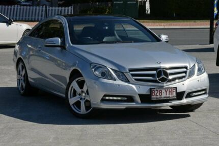 2011 Mercedes-Benz E250 CGI C207 Elegance Silver 5 Speed Sports Automatic Coupe Southport Gold Coast City Preview