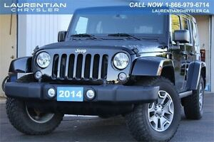2014 Jeep Wrangler Unlimited Rubicon-MANUAL TRANS+LOW KMS+ONE OW