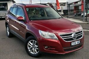 2010 Volkswagen Tiguan Red Sports Automatic Dual Clutch Wagon Keysborough Greater Dandenong Preview