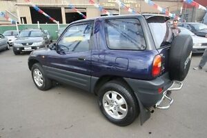1994 Toyota RAV4 (4x4) (4x4) Blue 4 Speed Automatic Hardtop Kingsville Maribyrnong Area Preview