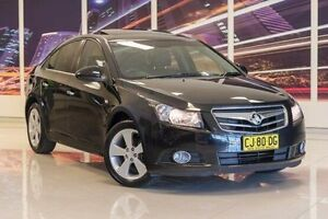 2010 Holden Cruze JG CDX Black 6 Speed Sports Automatic Sedan Blacktown Blacktown Area Preview