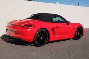 2012 Porsche Boxster 981 S PDK Red 7 Speed Sports Automatic Dual Clutch Convertible Wangara Wanneroo Area Preview