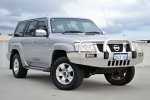 2010 Nissan Patrol GU 7 MY10 ST Silver 5 Speed Manual Wagon Midland Swan Area Preview