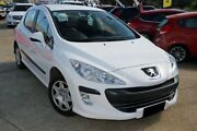 2009 Peugeot 308 XS HDI White 5 Speed Automatic Hatchback Buderim Maroochydore Area Preview