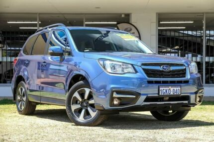 2017 Subaru Forester S4 MY18 2.5i-L CVT AWD Blue 6 Speed Constant Variable Wagon Victoria Park Victoria Park Area Preview