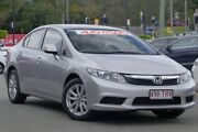 2013 Honda Civic 9th Gen Ser II VTi-L Alabaster Silver 5 Speed Sports Automatic Sedan Indooroopilly Brisbane South West Preview