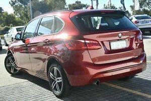 2016 BMW 218D F45 Sport Line Active Tourer Steptronic Red 8 Speed Automatic Hatchback Wangara Wanneroo Area Preview