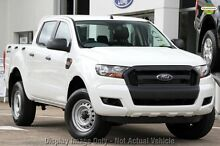 2016 Ford Ranger PX MkII XL Double Cab 4x2 Hi-Rider Cool White 6 Speed Manual Utility Dandenong Greater Dandenong Preview