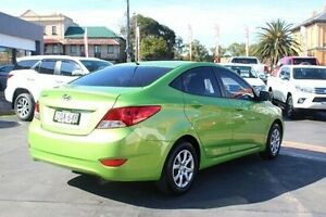 2013 Hyundai Accent RB2 Active Green 4 Speed Automatic Sedan South Maitland Maitland Area Preview