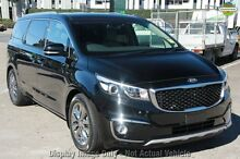 2016 Kia Carnival YP MY16 Platinum Aurora Black 6 Speed Sports Automatic Wagon Hillcrest Logan Area Preview
