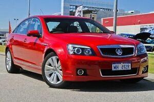 2011 Holden Caprice WM II Red 6 Speed Sports Automatic Sedan East Rockingham Rockingham Area Preview