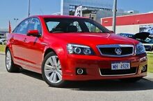 2011 Holden Caprice  Red Sports Automatic Sedan East Rockingham Rockingham Area Preview