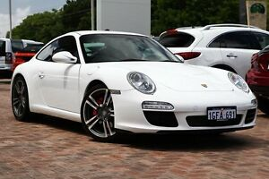 2012 Porsche 911 Carrera 997 Series II MY11 S PDK White 7 Speed Sports Automatic Dual Clutch Coupe Osborne Park Stirling Area Preview