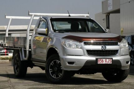 2012 Holden Colorado RG MY13 LX Silver 6 Speed Sports Automatic Cab Chassis