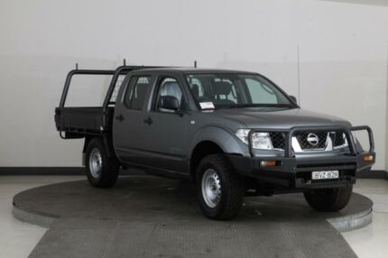 2011 Nissan Navara D40 MY11 RX (4x4) Grey 6 Speed Manual Dual Cab Chassis Smithfield Parramatta Area Preview