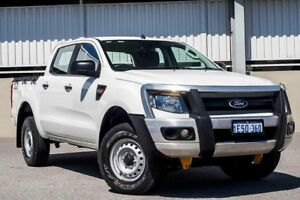 2015 Ford Ranger XL DOUBLE CAB PX White Manual Utility Cannington Canning Area Preview