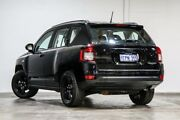 2014 Jeep Compass MK MY14 Blackhawk CVT Auto Stick Black 6 Speed Constant Variable Wagon Welshpool Canning Area Preview
