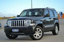 2010 Jeep Cherokee KK MY10 Limited Black 4 Speed Automatic Wagon Midland Swan Area Preview