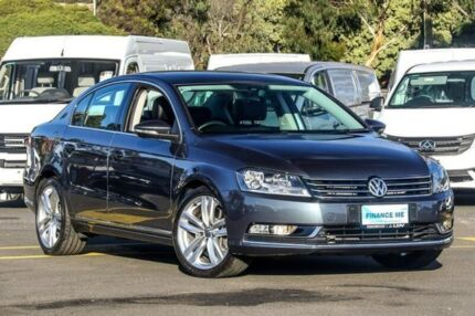 2011 Volkswagen Passat Type 3C MY11 V6 FSI DSG 4MOTION Highline Grey 6 Speed