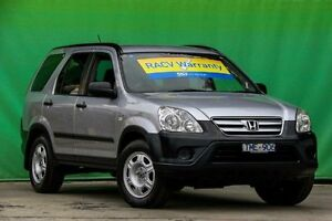 2005 Honda CR-V RD MY2005 4WD Silver 5 Speed Automatic Wagon Ringwood East Maroondah Area Preview