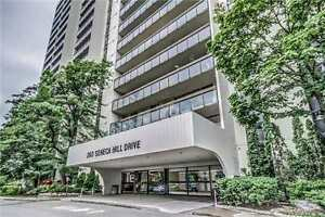 Bright and Spacious 2 bed condo - Don Mills/Finch