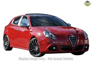 2012 Alfa Romeo Giulietta QV Grey 6 Speed Manual Hatchback Gymea Sutherland Area Preview