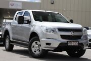2015 Holden Colorado RG MY15 LS Crew Cab Silver 6 Speed Sports Automatic Utility Springwood Logan Area Preview