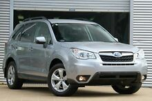 2015 Subaru Forester MY15 2.5I-L Silver Continuous Variable Wagon Rosebery Inner Sydney Preview