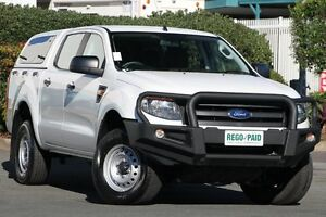 2014 Ford Ranger PX XL Double Cab Cool White 6 Speed Sports Automatic Utility Acacia Ridge Brisbane South West Preview