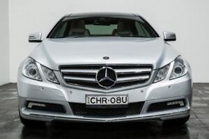 2010 Mercedes-Benz E350 C207 Avantgarde 7G-Tronic Silver 7 Speed Sports Automatic Coupe
