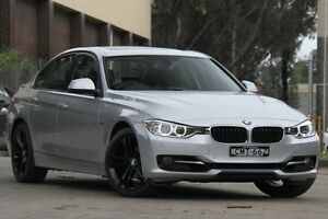 2013 BMW 320i F30 Sport Line Silver 8 Speed Automatic Sedan Petersham Marrickville Area Preview