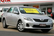 2013 Toyota Corolla ZRE152R Ascent Silver Pearl 4 Speed Automatic Sedan Woolloongabba Brisbane South West Preview
