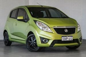 2012 Holden Barina Spark MJ MY12 CD Green 5 Speed Manual Hatchback Bellevue Swan Area Preview