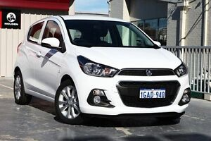 2016 Holden Spark MP MY16 LT Olympic White 1 Speed Constant Variable Hatchback West Perth Perth City Area Preview