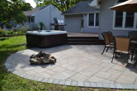 WE'LL BUILD & INSTALL YOUR DECK FOR FIREPITS & HOT TUBS L.Martin