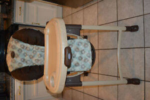High Chair from Graco and 2 boosters