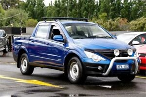 2011 Ssangyong Actyon Sports 100 Series MY11 Sports 4x2 Blue 5 Speed Manual Utility Ringwood East Maroondah Area Preview