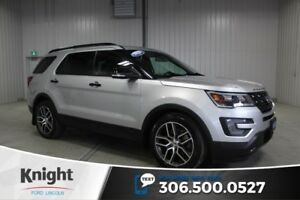 2016 Ford Explorer Sport Navigation, Moon Roof