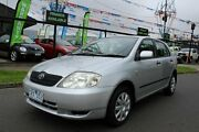 2004 Toyota Corolla ZZE122R 5Y Ascent Silver 4 Speed Automatic Hatchback West Footscray Maribyrnong Area Preview