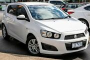 2016 Holden Barina TM MY16 CD White 6 Speed Automatic Hatchback Coburg Moreland Area Preview