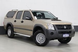 2008 Holden Rodeo RA MY08 LX (4x4) 60th Anniversary Gold 5 Speed Manual Crew Cab P/Up Bentley Canning Area Preview