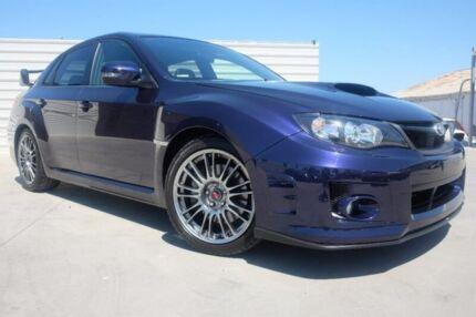 2013 Subaru Impreza G3 MY13 WRX STi AWD Spec R Blue 5 Speed Sports Automatic Sedan