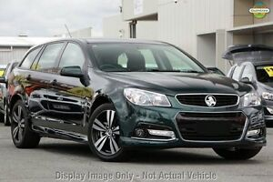 2015 Holden Commodore VF MY15 SV6 Sportwagon Storm Green 6 Speed Sports Automatic Wagon Southbank Melbourne City Preview