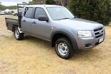 2008 Ford Ranger PJ XL Crew Cab Grey 5 Speed Automatic Utility Burnie Burnie Area Preview