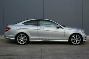 2014 Mercedes-Benz C250 CDI C204 Avantgarde 7G-Tronic Silver 7 Speed Sports Automatic Coupe