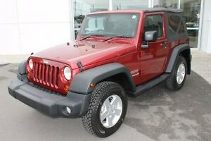 2010 Jeep Wrangler JK MY2010 Sport Red 6 Speed Manual Softtop Mount Gravatt Brisbane South East Preview