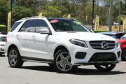 2017 Mercedes-Benz GLE250 W166 807MY d 9G-TRONIC 4MATIC White 9 Speed Sports Automatic Wagon Indooroopilly Brisbane South West Preview