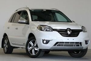 2014 Renault Koleos H45 Phase III Bose SE (4x2) White Continuous Variable Wagon Coopers Plains Brisbane South West Preview