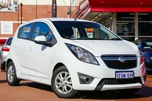 2015 Holden Barina Spark MJ MY15 CD White 4 Speed Automatic Hatchback Fremantle Fremantle Area Preview